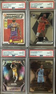 REPACK-LeBron-Zion-Williamson-Ja-Morant-Prizm-Net-Marvels-PSA-10-1-Sealed-Pack