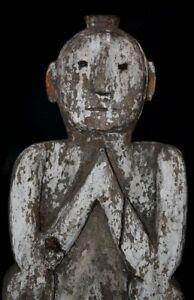 Antique-Primitive-Human-figure-Himalayan-Primitive-Tribal-art-wooden-sculpture