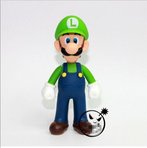 """5/"""" LUIGI action figures poupée livraison gratuite New Super Mario Bros"""