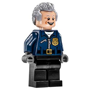 Lego Minifig Figurine Super-Heroes Captain Stacy Neuf New Set 76059