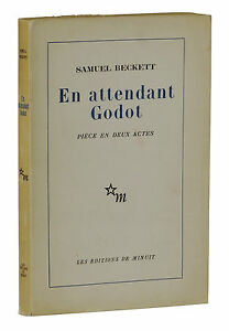 Details About En Attendant Godot Samuel Beckett True First Edition 1st French 1952 Waiting For