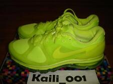Nike Air Max +2010 Size 11 Volt Infrared Neon Red Hyperfuse 2013 B