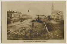 Rumänien / Ungarn MARAMAROS-SZIGET Maramuresch / Marktplatz * Foto-AK um 1900
