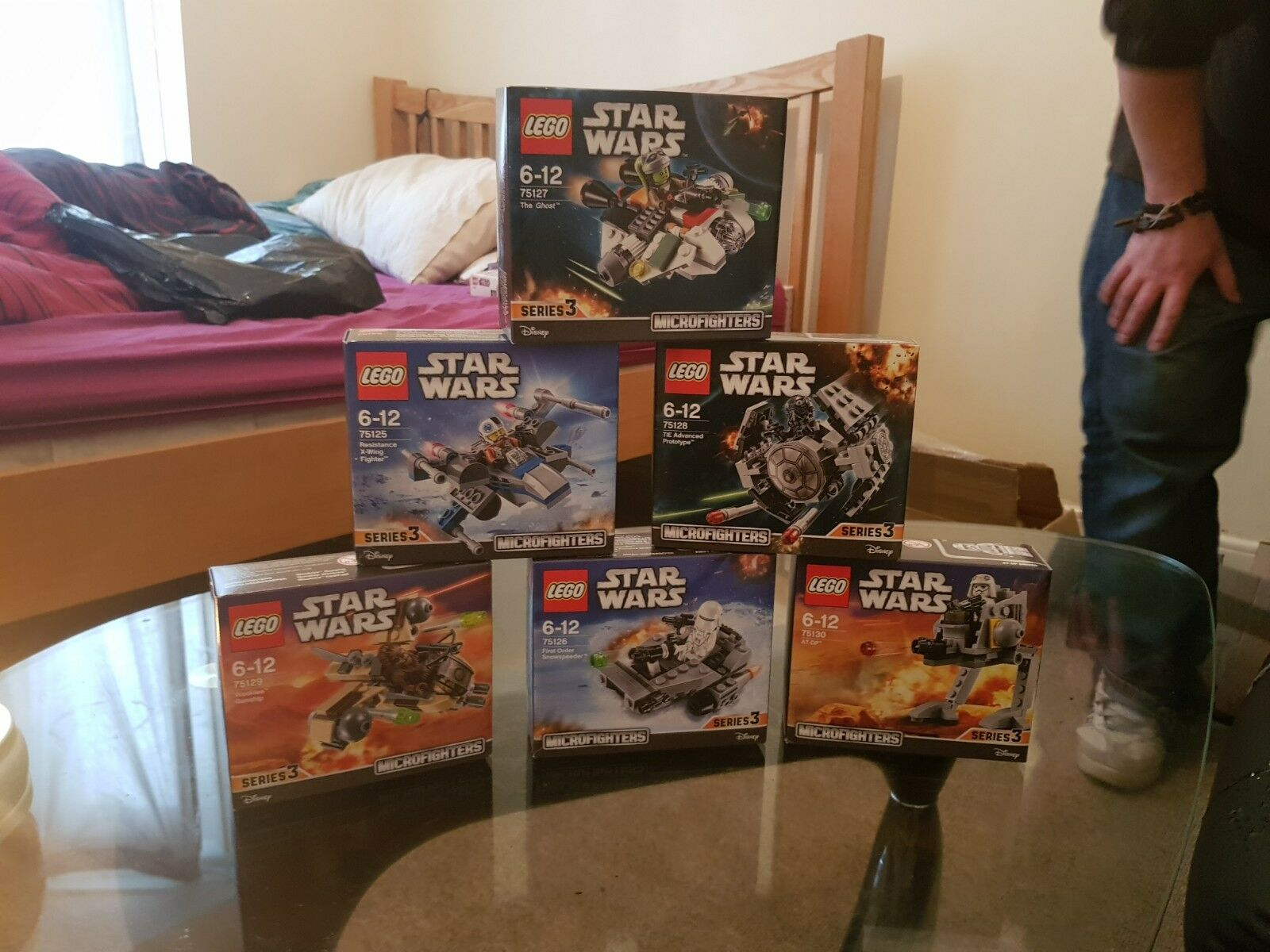 LEGO Star Wars set of 6 microfighters very rare brand new