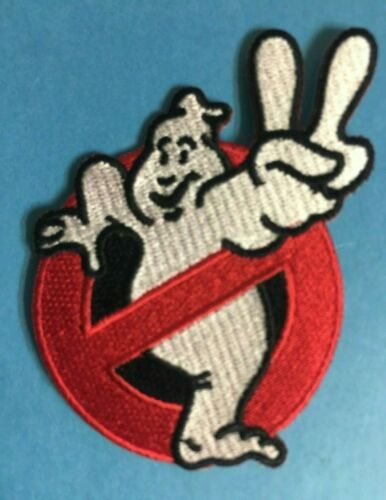 Iron On Ghostbusters II 2 No Ghost Hipster Jacket Costume Patch Crest 332T