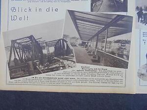 1931... Bildbeilage 6/leipzig Lößnitz/roßleben/-afficher Le Titre D'origine Les Produits Sont Vendus Sans Limitations