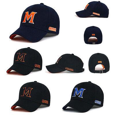 Unisex Mens Womens Casual Alphabet Initial S Letter Baseball Cap Trucker Hats