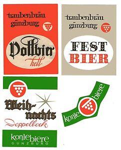 3-alte-Bieretiketten-Traubenbraeu-Guenzburg