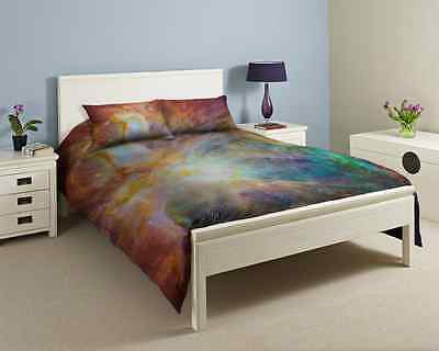3D Single, Double, King size Galaxy Duvet cover bedding set Nebula Star Universe