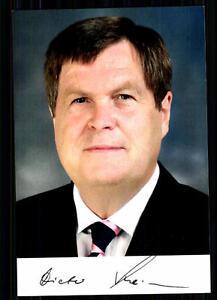 Geschickt Dieter Steinecke Autogrammkarte Original Signiert ## Bc 17680 Sammeln & Seltenes