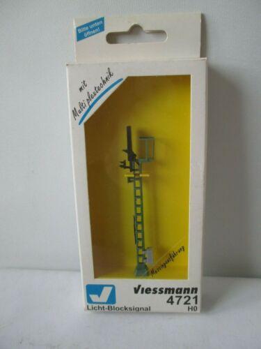 OVP wh3724 Viessmann h0 4721 luce segnale di blocco vedi foto M