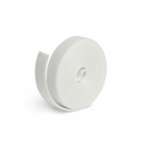 LTC 1220 3m Label-the-Cable nastro di velcro ruolo LTC Roll strap bianco