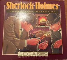 Sherlock HOLMES CONSULTING DETECTIVE PC rarità 1991