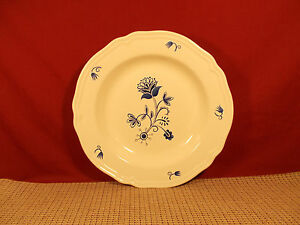 Ikea Dinnerware Arv Idyll Pattern Large Rim Soup Bowl 10 1/4\