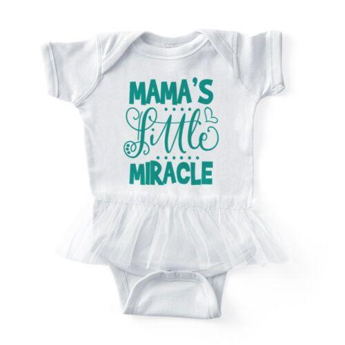 CafePress Baby Tutu Bodysuit Mama/'s Little Miracle