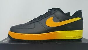 Nike Air Force 1 Low Black Yellow Orange CJ0524 001 Release