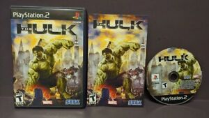 The-Incredible-Hulk-Marvel-PS2-Playstation-2-Game-1-Owner-Mint-Disc-COMPLETE
