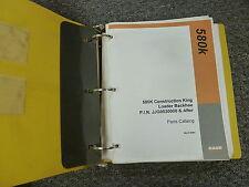 Case 580K Construction King Loader Backhoe Parts Catalog Manual Manual BUR85581