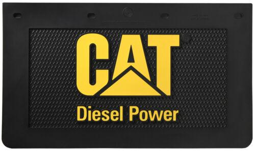 "Caterpillar CAT Diesel Power 24/"" x 14/"" Semi Truck Mud Flaps//Splash Guards-Pair"