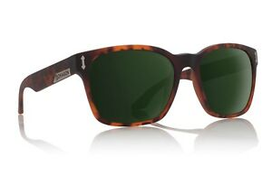 New Dragon Liege Sunglasses Matte Tortoise/Green Lens 27073-226 RRP $180
