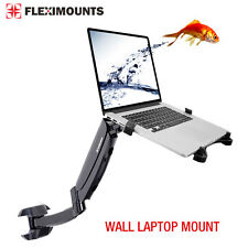 "Swivel Upto 15.6"" Wall Laptop Mount & 10 - 24"" Monitor LCD Arm Mount Stand"