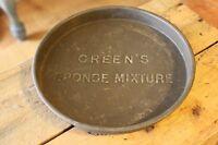 Vintage Green's Sponge Mixture Baking / Cake Tin – Kitchenalia! –