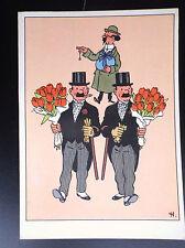 Ancienne carte postale Casterman Tintin  ETAT NEUF