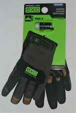 Brand New Pair Ironclad Leather Reinforced Gloves Exo Mlr 03 M Amp Free Flashlight