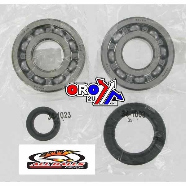 Crank Bearing and Seal Kit HONDA CR 250R 24-1030 NEW  ALL BALLS