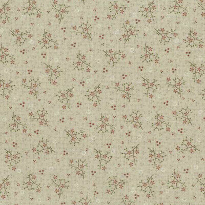 Lynette Anderson One Stitch At A Time Hexagon Light Brown Per 1//4 Metre