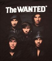 Vintage The Wanted Rock Pop Music Concert Tour T Shirt Tee Tshirt Adult Xl