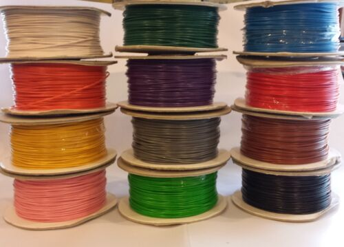 12v16.5amp Thin Wall Wire Packs 4 6 8 10 Random Colours MultiListing