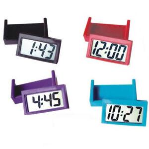 Mini Lcd Automobil Digital Auto Uhr Selbstklebend Stick Zeit