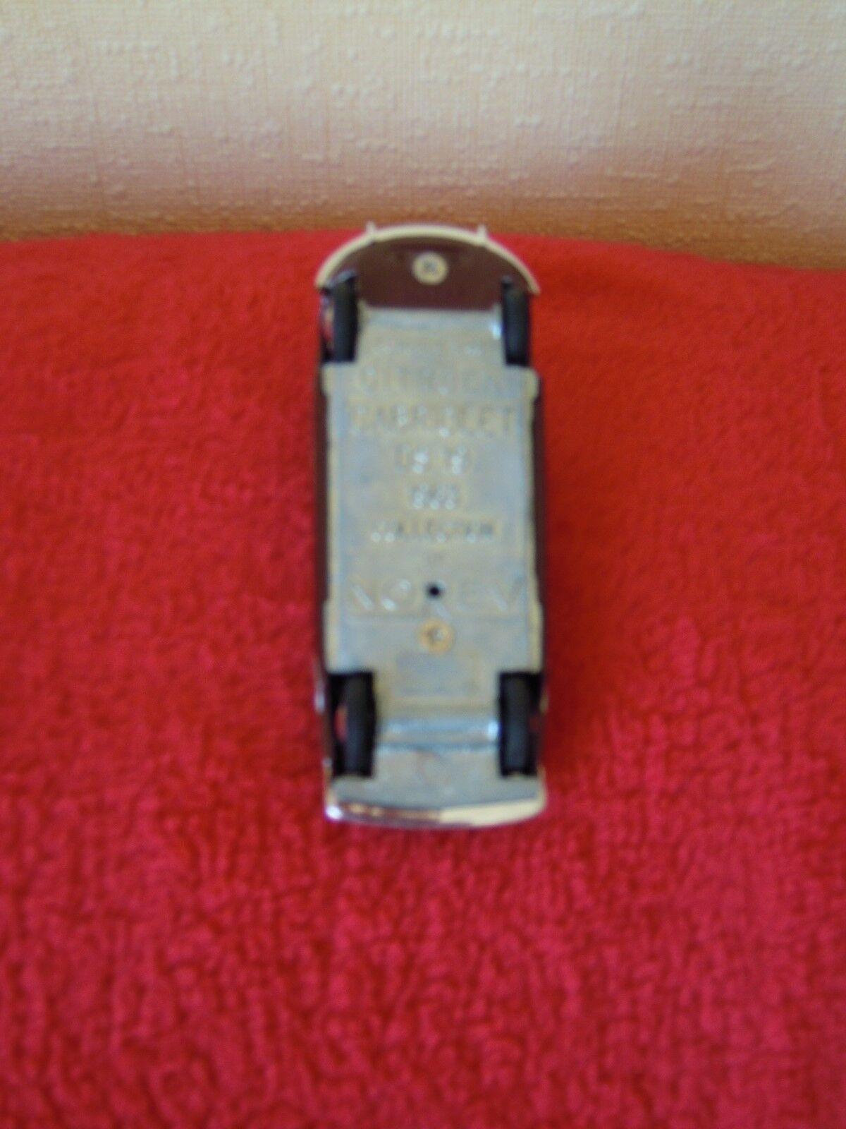 VOITURE MINIATURE 1 43 - CITROËN DS 19 DECAPOTABLE DECAPOTABLE DECAPOTABLE NOREV - 1963 METAL CABRIOLET c9b1a5