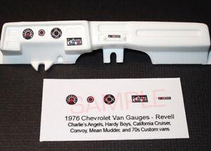 1976-CHEVROLET-CALIFORNIA-CRUISER-VAN-GAUGE-FACES-for-1-25-scale-REVELL-kits