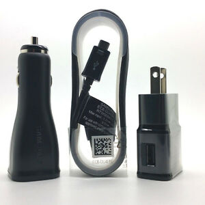 New-OEM-Samsung-Galaxy-Note-4-Battery-Black-Car-Charger-Cable-Adapter-Stylus-Lot