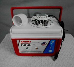 Coleman-5qt-Mini-Personal-Swamp-Cooler-Portable-Air-Conditioner-4-034-USB-Fan