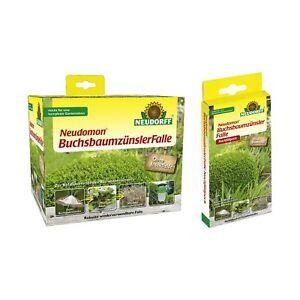 Capable Neudomon Buchsbaumzünsler-falle + Pack De Recharge Buchsbaumzünslerfalle Lutte Excellente Qualité