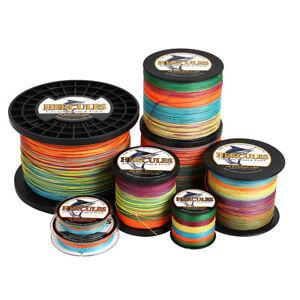 Hercules-PE-4-8-9-12-Strands-6-300lbs-Braided-Fishing-Line-Multi-Color-100-2000m