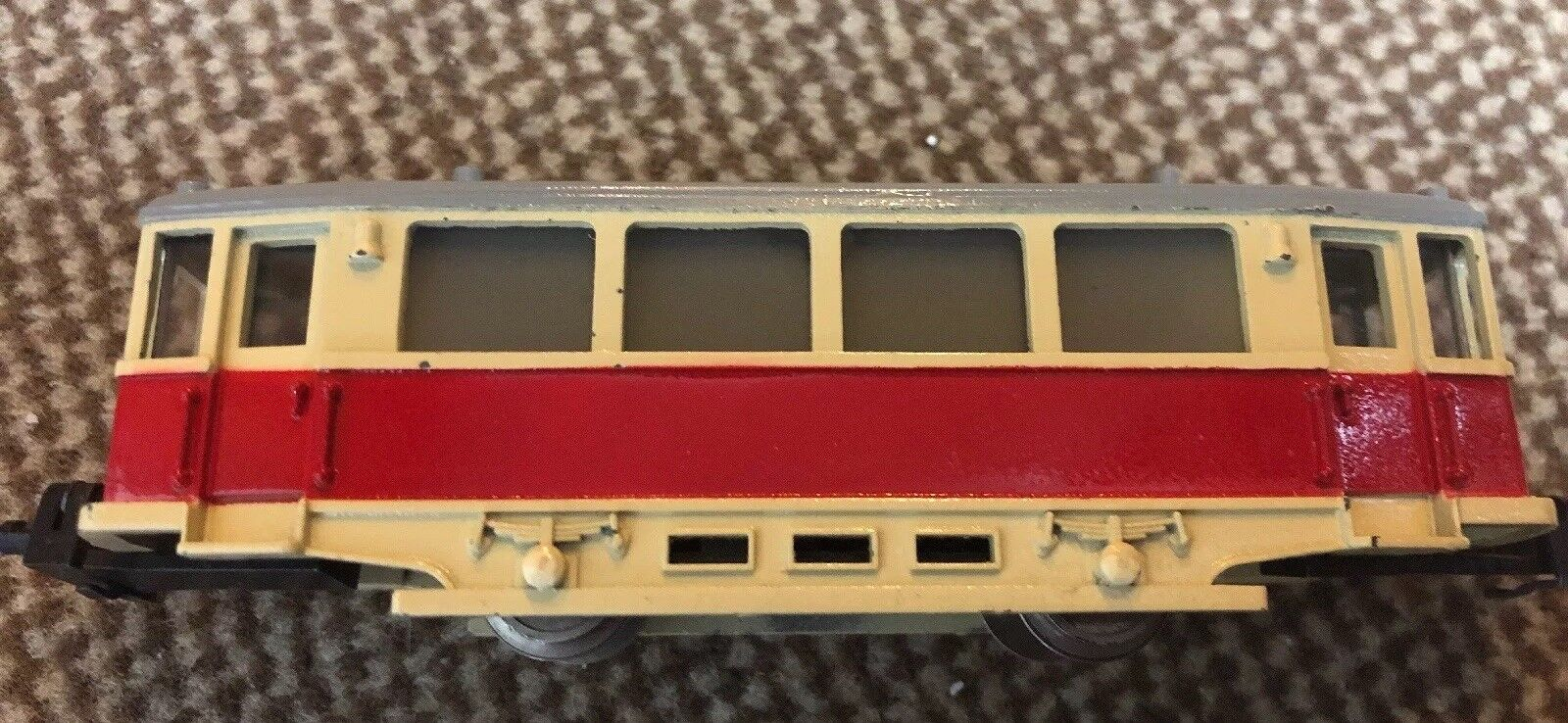 Märklin HAMO 250, Tram Trailer, Red Beige, Top Original Condition