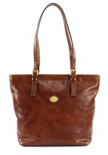 Tasche Neu S Bag Schultertasche Braun Marrone Story Bridge Donna Shopper The qwFg0Fv