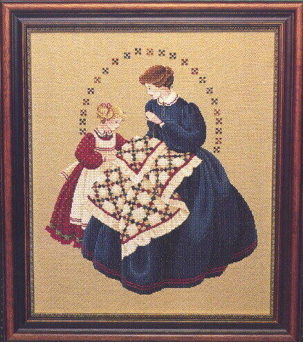Lavender /& Lace Cross Stitch Pattern~YOU CHOOSE~Marilyn Leavitt-Imblum