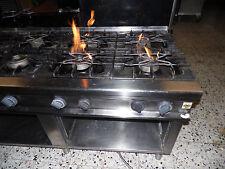 Gasherd 8-Flammig Erdgas  und Unterschrank Olis made in Italy gebraucht