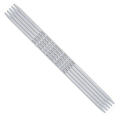 Addi 4 inch (10 cm) Aluminum lightweight Double Point Knitting Needles