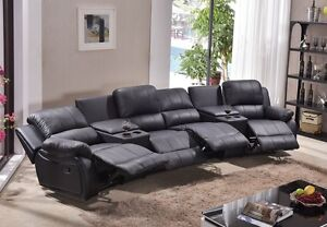 leder fernsehsessel relaxsofa sofa kinosofa heimkino 5129 cup 42 s ebay. Black Bedroom Furniture Sets. Home Design Ideas