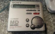 Sony MZ R70  Walkman Minidisc Recorder