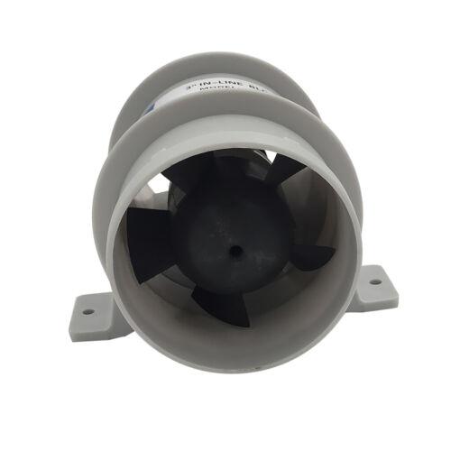 3 Zoll Durchmesser marine 12v ruhiges Gebläse wasserdicht hoher Luftstrom