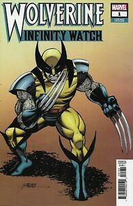 Wolverine-Comic-Issue-1-Infinity-Watch-Limited-Variant-Modern-Age-First-Print