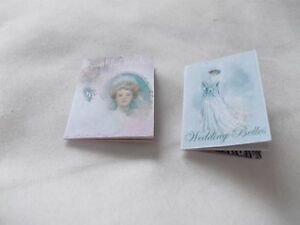 2-VICTORIAN-BRIDES-PRINTED-MAGAZINES-FOR-A-DOLLS-HOUSE