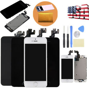 Assembly-For-iPhone-5C-5S-5-LCD-Touch-Screen-Digitizer-Replacement-W-Home-Button